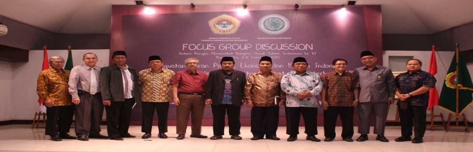 FGD Pra-Kongres Umat Islam Indonesia ke-6
